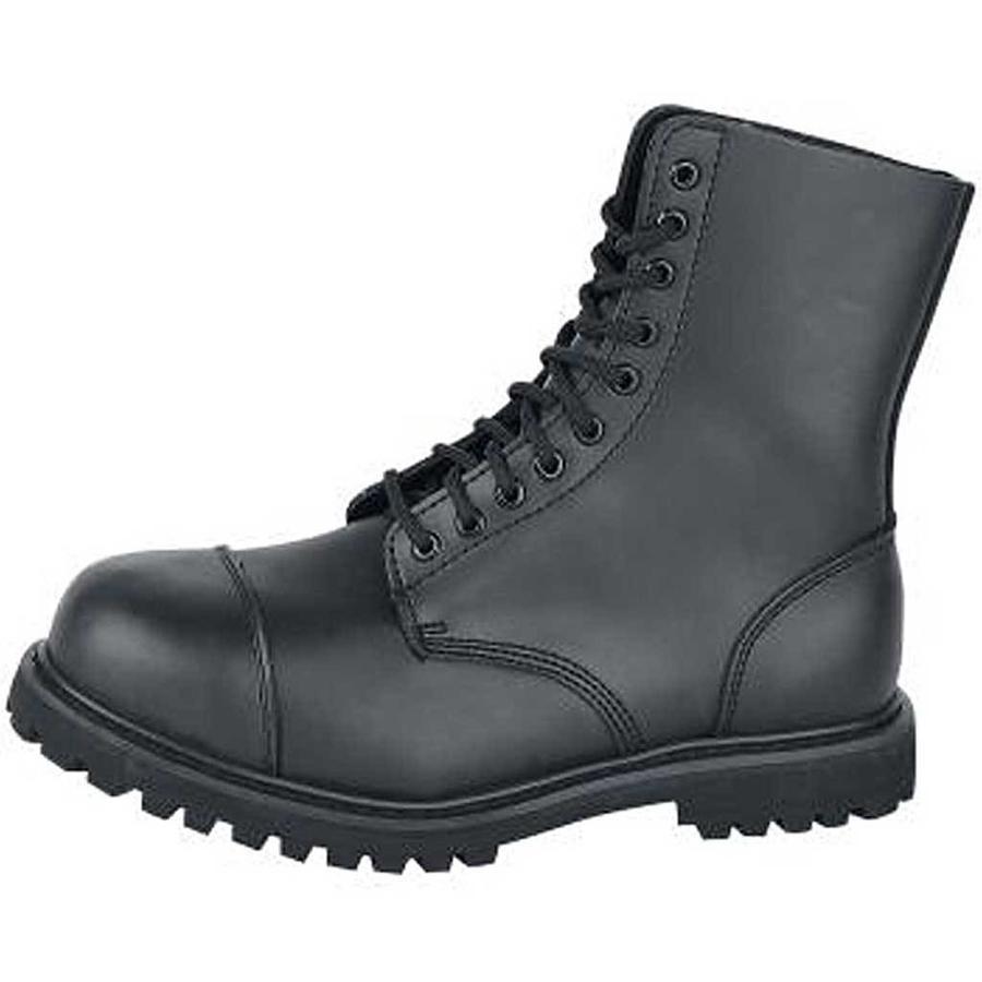 Phantom Boots 10 Eyelet Zwart Legerkisten Uniseks