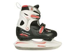 Nijdam 0026 Ice Hockey Skate Junior Verstelbaar Zwart Schaatsen Kids