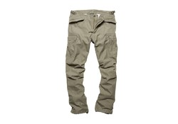 Vintage Industries M65 Heavy Satin Pants Olive Outdoorbroeken Heren
