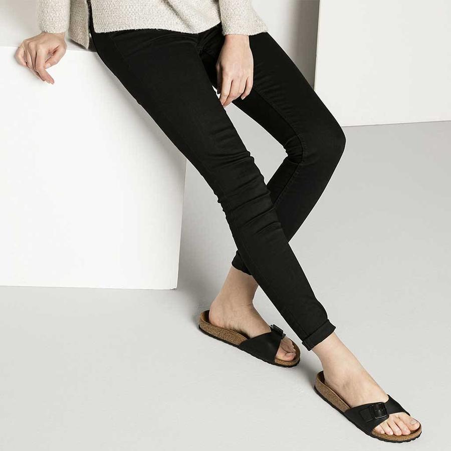Madrid Zwart Slippers Dames