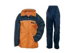 Anuy Luton Marine Oranje Regenpak Kinderen