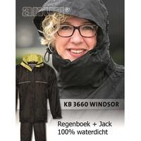 Windsor Zwart Regenpak Uniseks