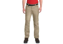 Maier Sports Tajo 2 Pants Zip-Off Lang Khaki Outdoorbroek Heren