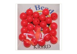 Midnight Moon Kraal 3mm Rood 25st