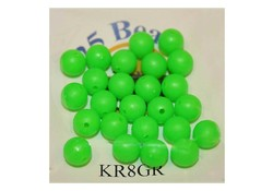 Midnight Moon Kraal 3mm Lime Green 25st