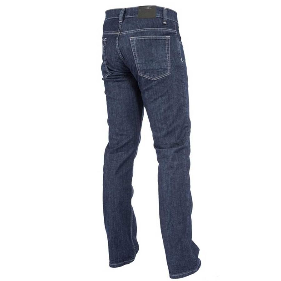 Danny C94 Stretch Blue Black Jeans Heren