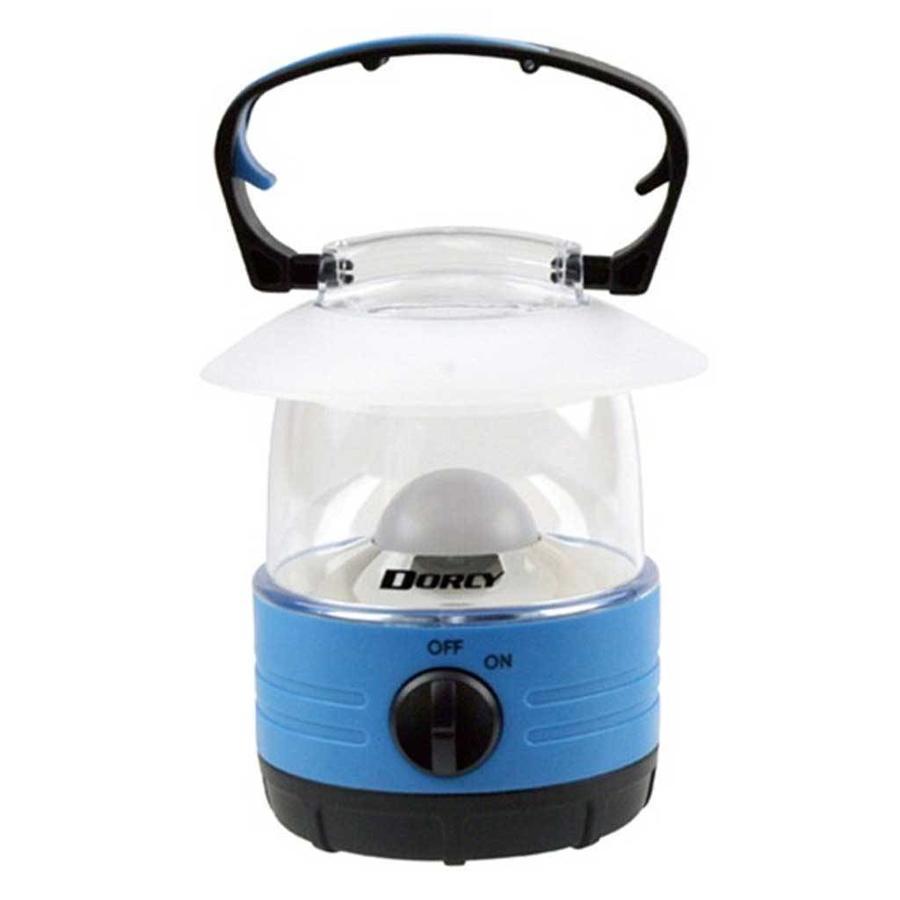 EU-3019 4AA 2-LED Blauw Mini Lantaarn