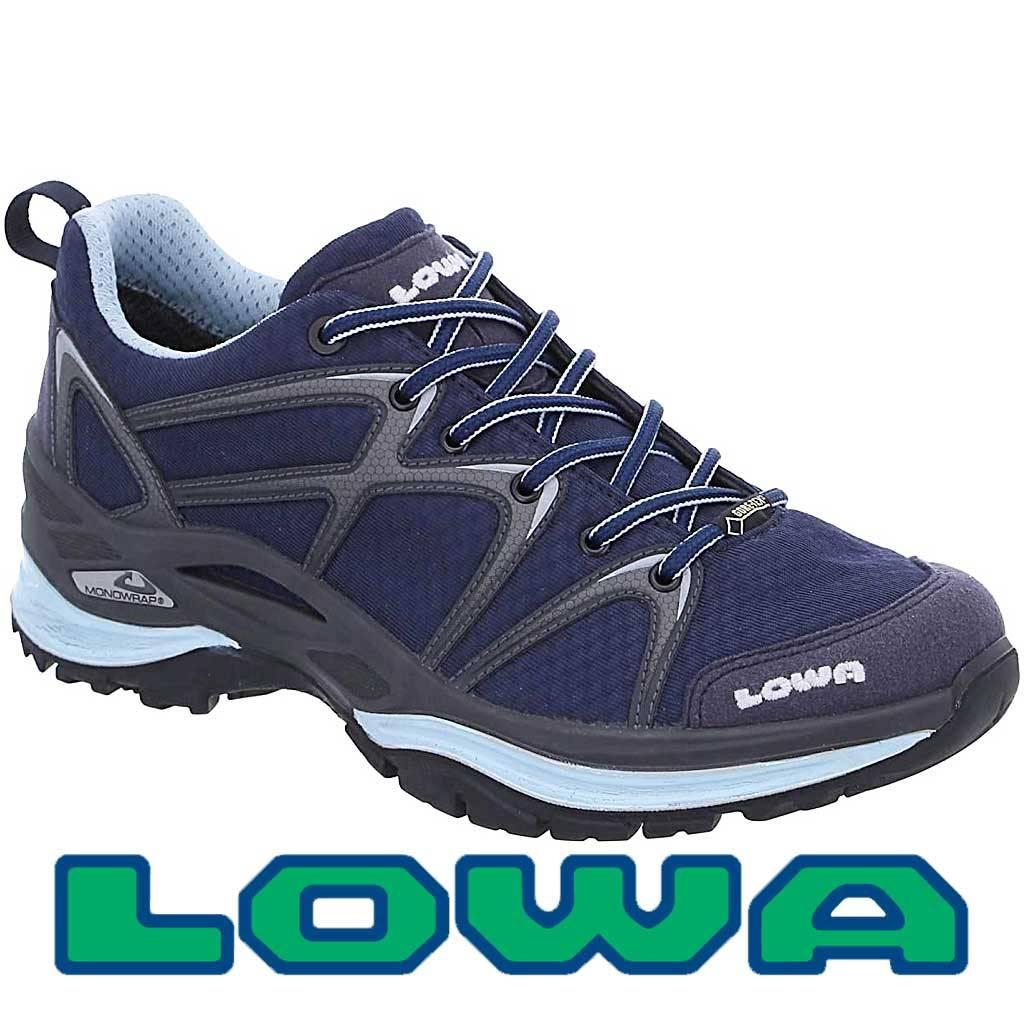 Lowa Innox GTX Lo Navy Ice Blue Wandelschoenen Dames