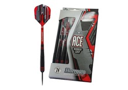 Harrows Ace 100% Brass Rubbergrip Darts