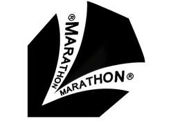 Harrows Marathon Flights Darts Black