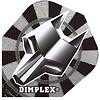 Harrows Dimplex Flights Darts Grey Wolf