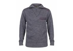 Life Line Brooksville Knitted Sweater Blue Heren Trui