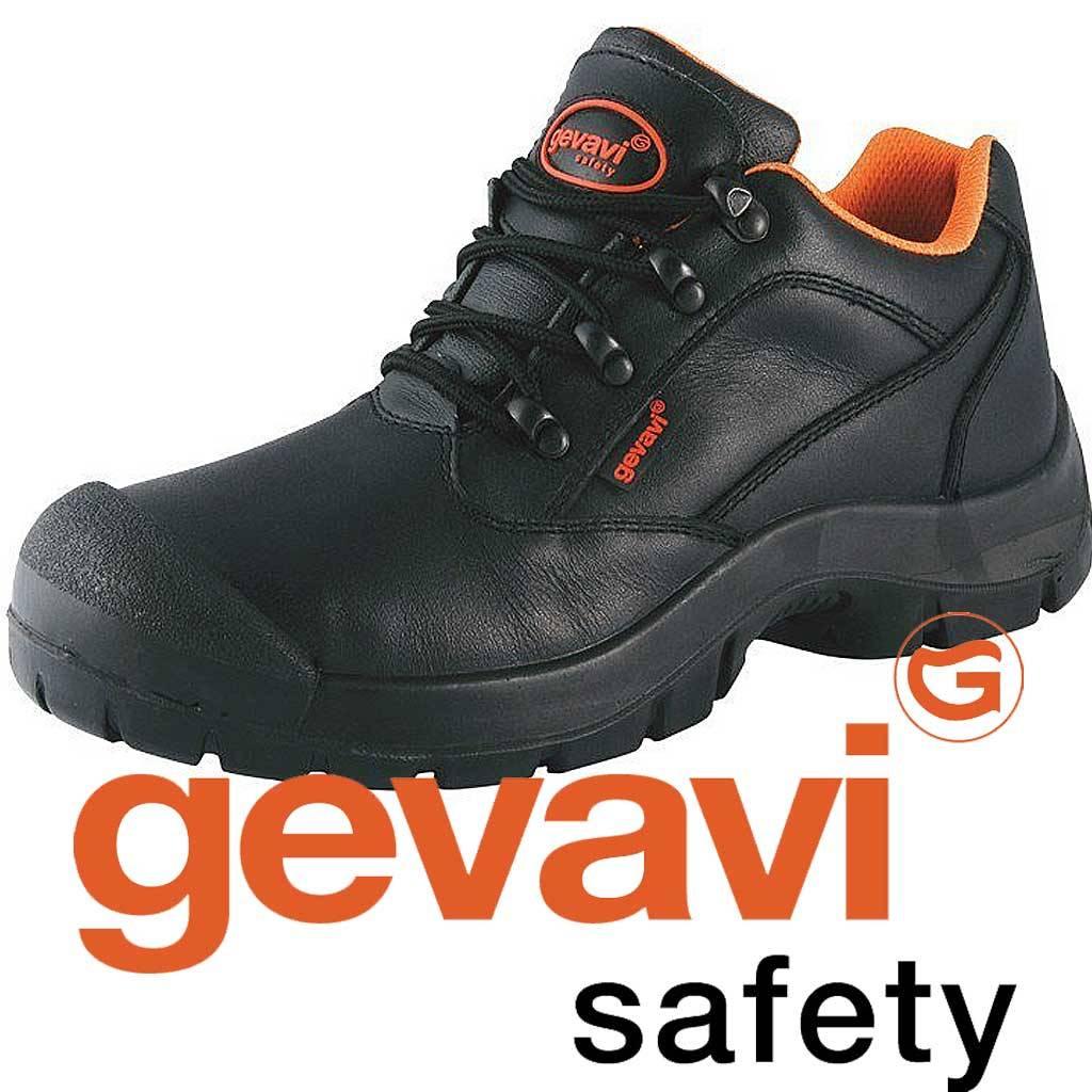Werkschoenen Heren Sneakers.Werkschoenen Gevavi Gs41 Stalen Neus S3 Veiligheidsnorm