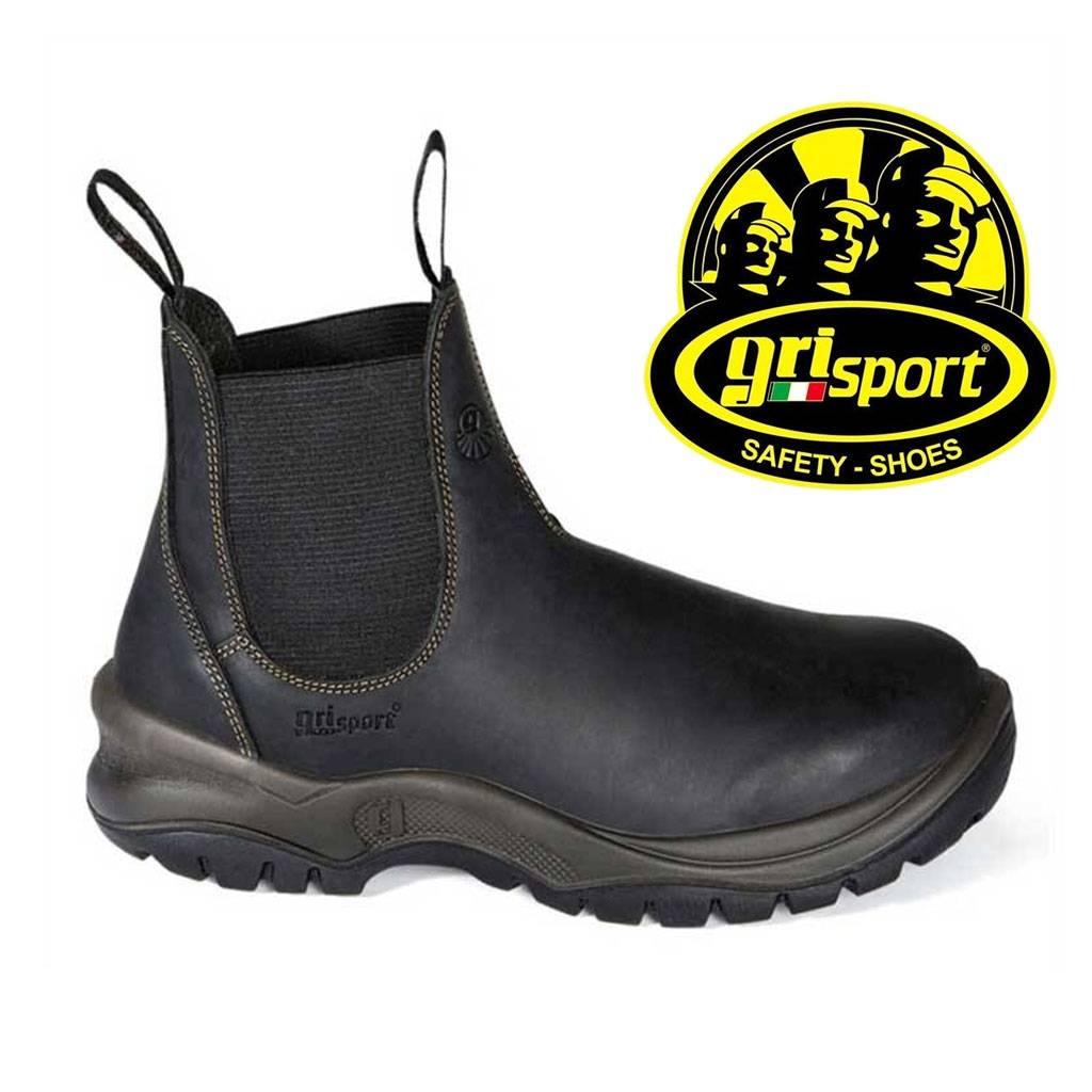 Hoge Werkschoenen Met Stalen Neus.Werkschoenen Grisport 72457 Instapmodel Zonder Veters