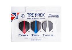 Harrows Tri Pack Retina Flights 3 Sets
