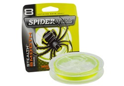 Spiderwire Stealth Smooth Braid 300M Yellow Hengelsport