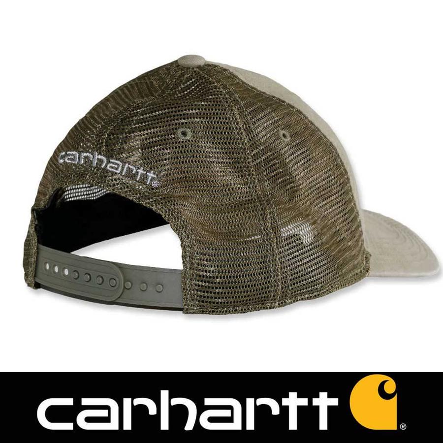 Buffalo Burnt Olive Cap