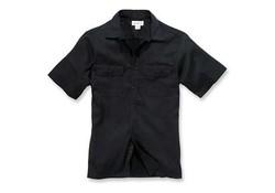 Carhartt Twill Short Sleeve Work Shirt Black Heren