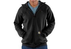 Carhartt Midweight Zip Hooded Sweatshirt Zwart Heren