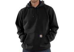 Carhartt Midweight Hooded Sweatshirt Black Heren