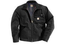 Carhartt Duck Detroit Black Jacket Heren