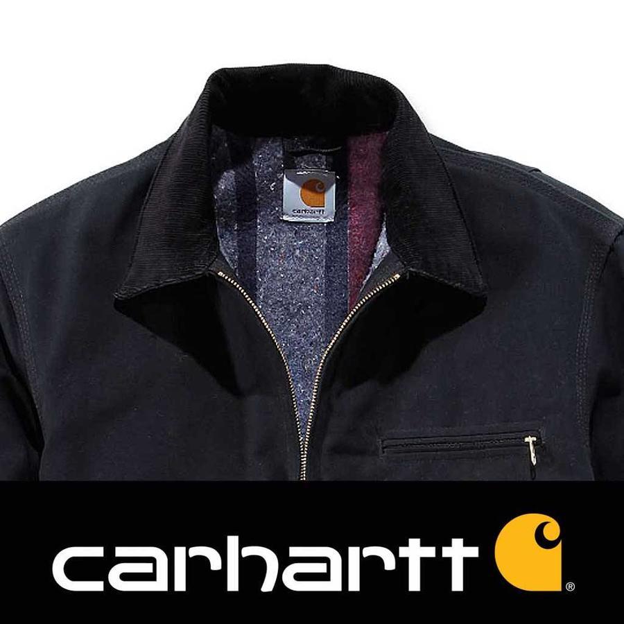Duck Detroit Black Jacket Heren