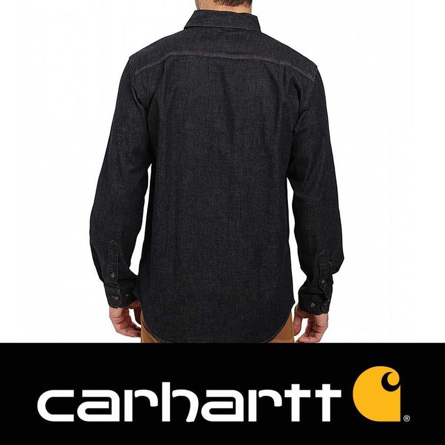 0d6bd969de Carhartt Rugged Flex Patten Denim Shirt Heren