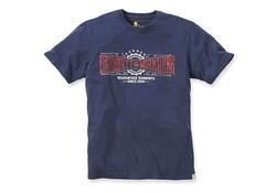 Carhartt Work Crew Graphic Navy T-Shirt Heren