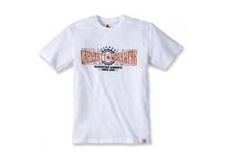 Carhartt Work Crew Graphic White T-Shirt Heren