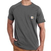 Force Cotton Carbon Heather T-Shirt Heren
