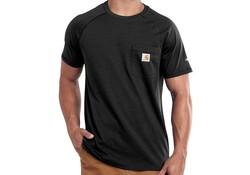Carhartt Force Cotton Zwart T-Shirt Heren