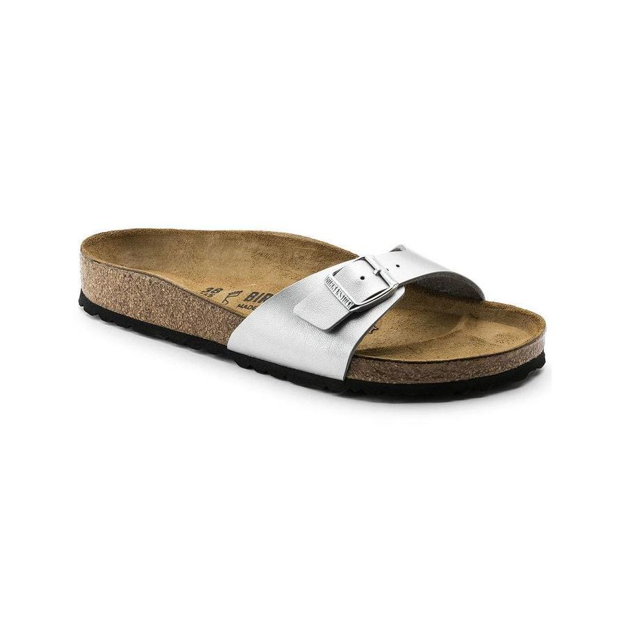 Madrid Silver Slippers Dames