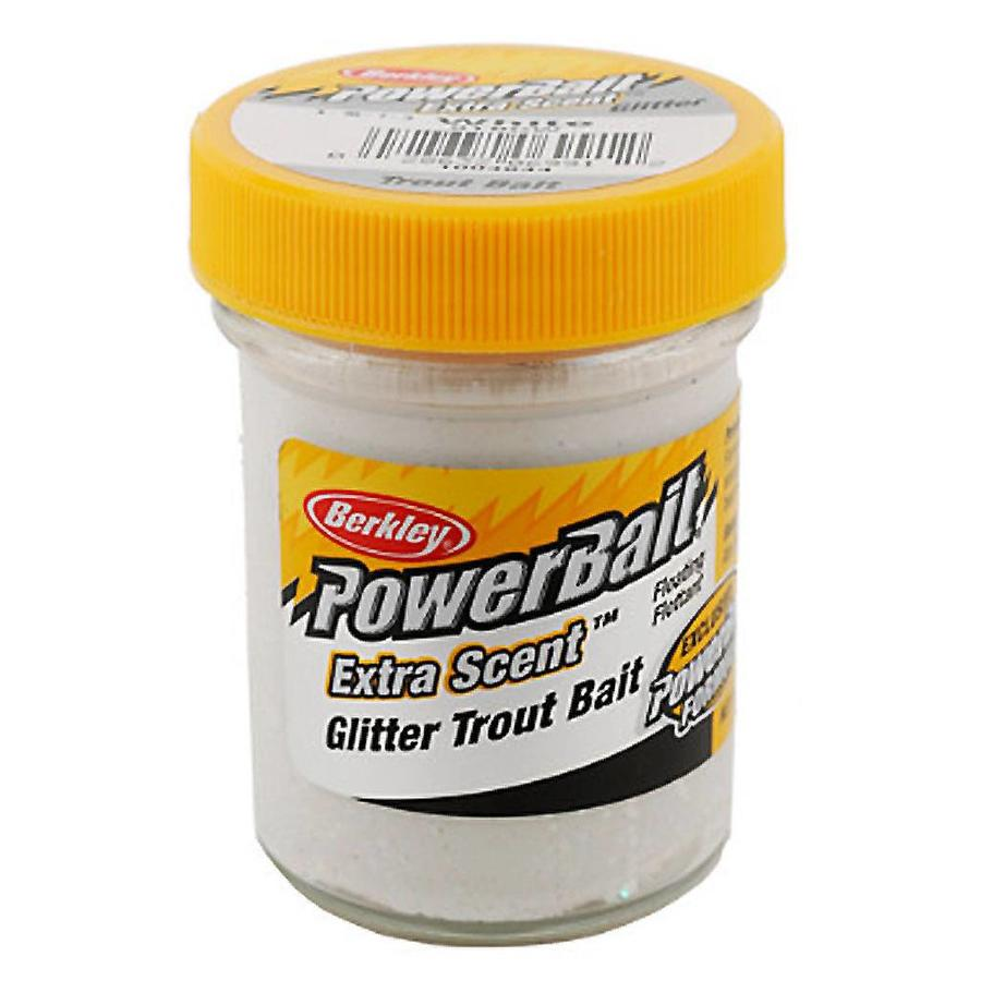 Powerbait Glitter Trout Bait White