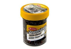 Berkley Powerbait Glitter Trout Bait Smoke-Fire-Slvr-Flk