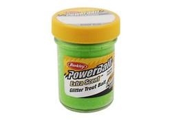 Berkley Powerbait Glitter Trout Bait Spring Green
