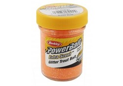 Berkley Berkley Powerbait Glitter Trout Bait Fluo Orange