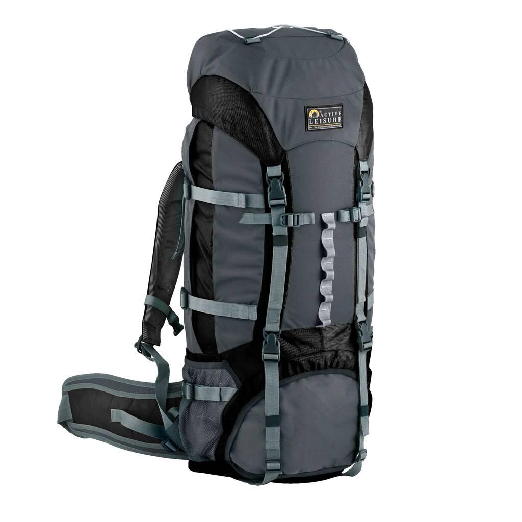 d909e0c8f70 Active Leisure Equinox Black-Charcoal 75 Liter Rugzak
