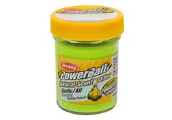 Berkley Powerbait Glitter Trout Bait Garlic- Chartreuse