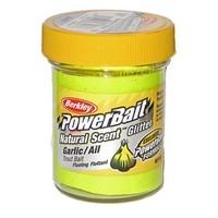 Powerbait Glitter Trout Bait Garlic SS YE