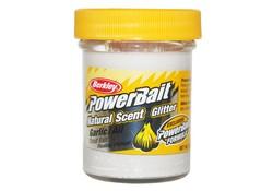 Berkley Powerbait Glitter Trout Bait Garlic White