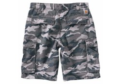 Carhartt Rugged Cargo Grey Camo Short Heren