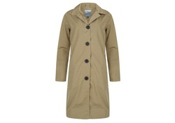 Happy Rainy Days Soft Touchcoat Scotland Sage Regenjas Dames