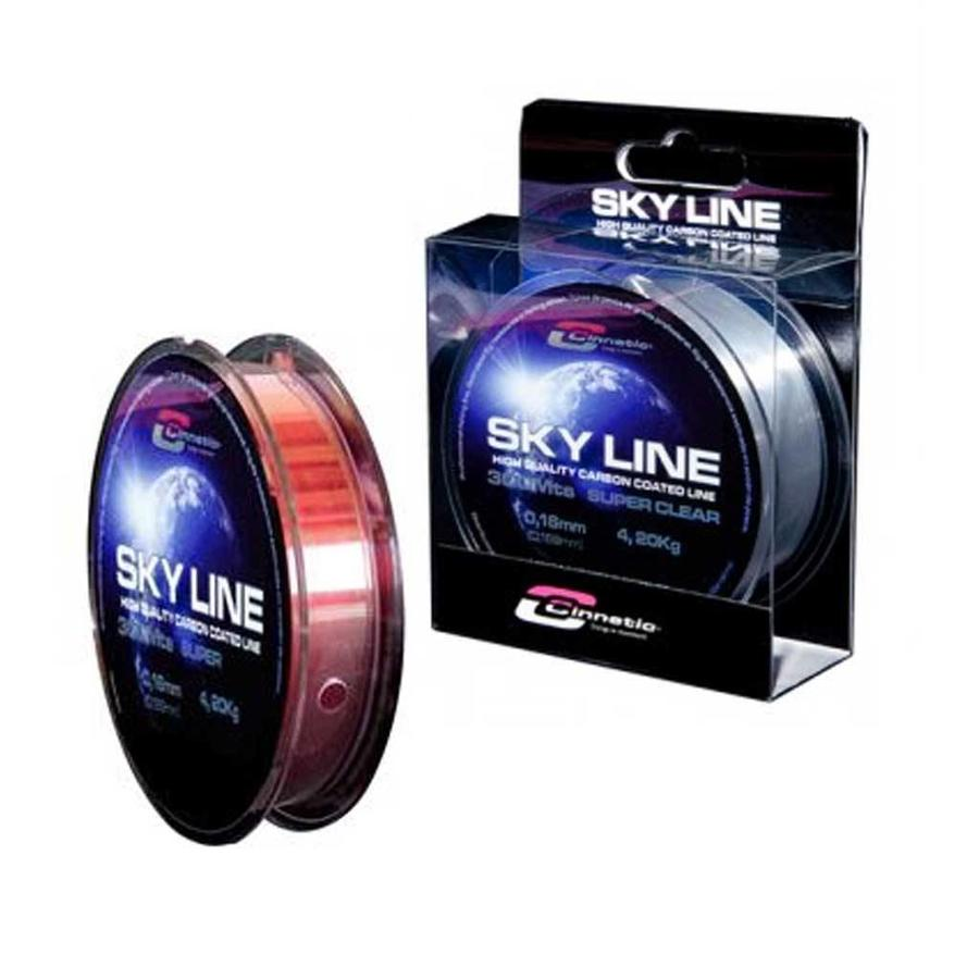 SkyLine Nylon 2000 Meter Rood Vislijn