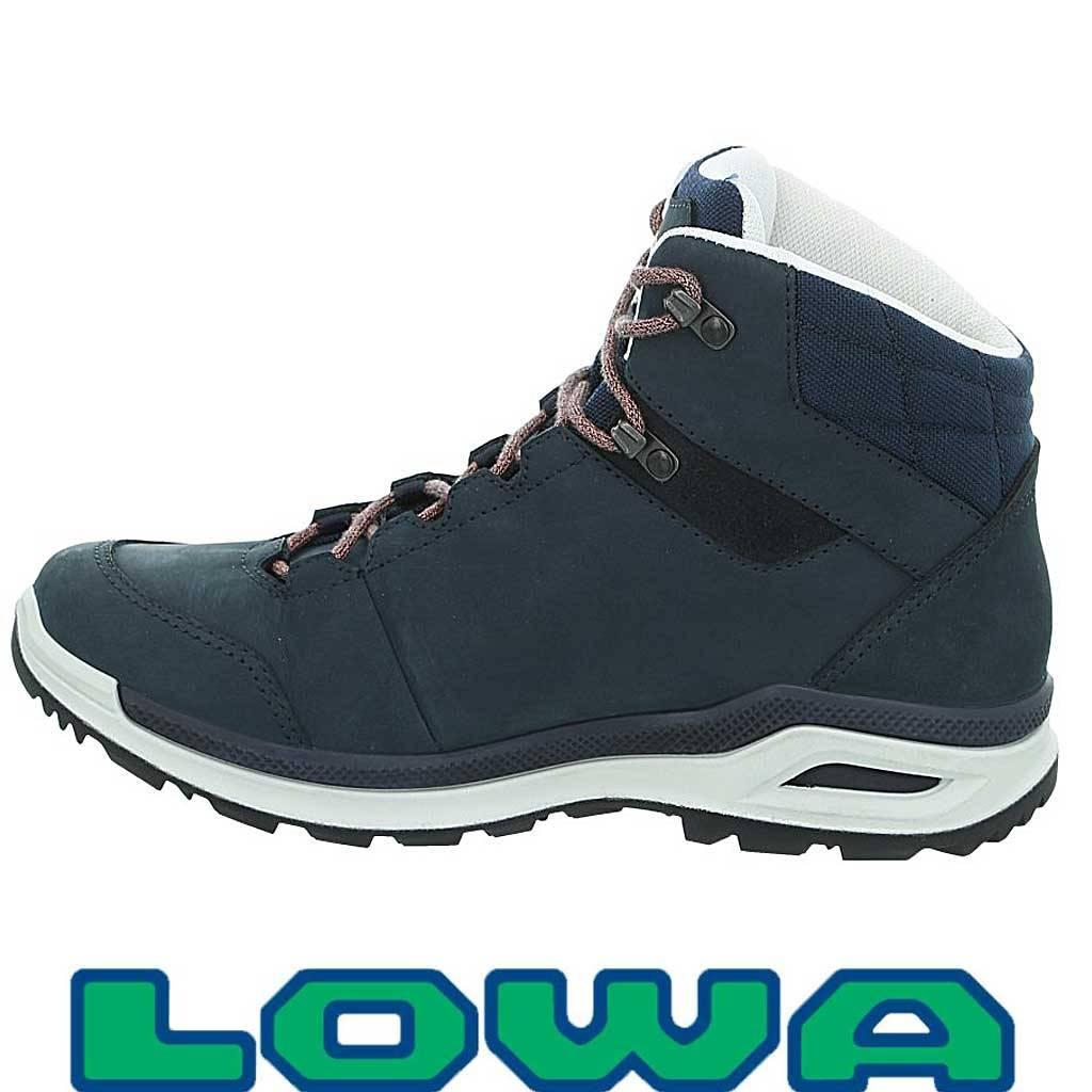 innovatief ontwerp beste schoenen eerste klas Lowa Locarno GTX Ws Navy Mandarin Wandelschoenen Dames