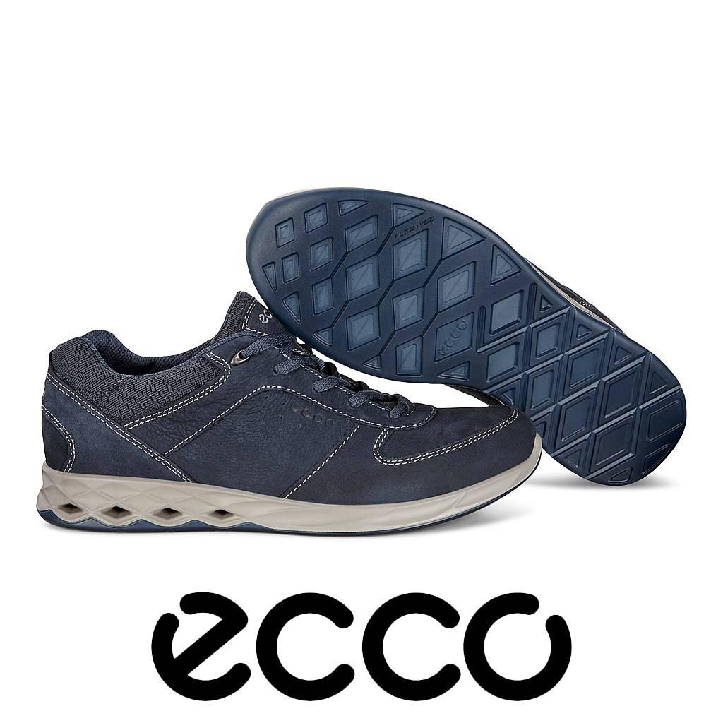 Ecco Wayfly Blauw Wandelschoenen Heren