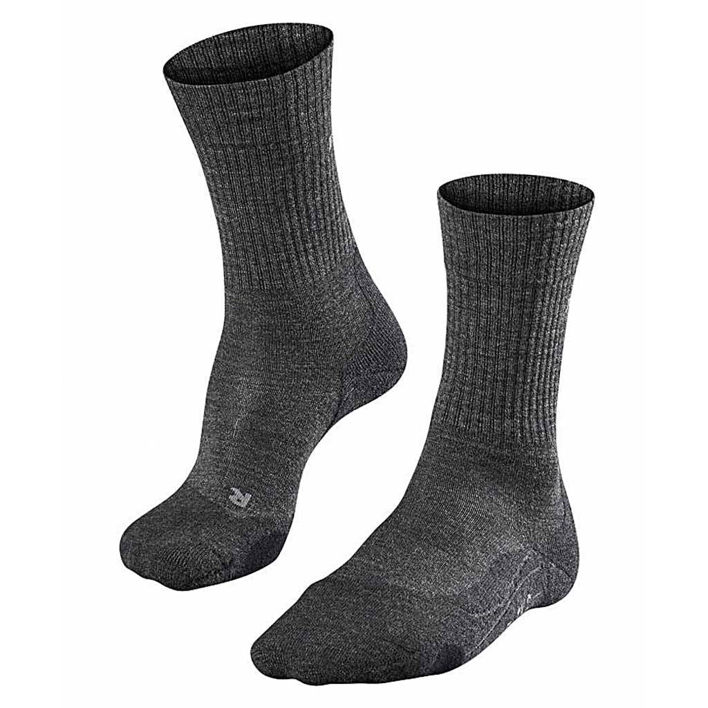 outlet boetiek echte schoenen goedkope verkoop Falke TK2 Wool Smog Wandelsokken Heren