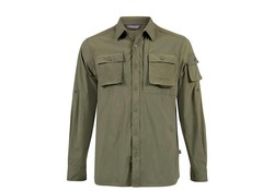 Life Line Jowan Olive Shirt Heren