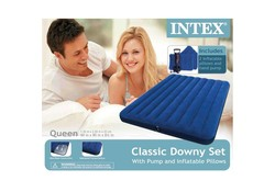 Intex Downy Queen 2 Persoons luchtbed