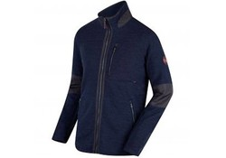 Regatta Caedin Navy Fleece Jas Heren