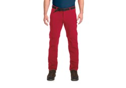 Maier Sports Tajo Pants Zip-Off Kort Rood Outdoorbroek Heren